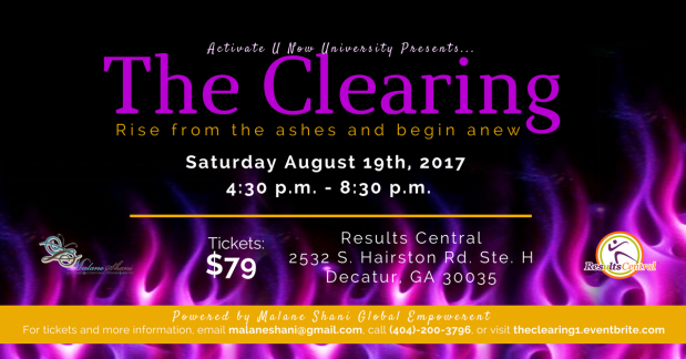 The Clearing Flyer August 19
